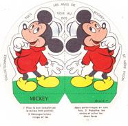 """Lot De 2 Montage Découpage Pliage Publicité """"Mère Picon"""" MICKEY MINNIE Souris Mouse Maus (3 Scans) - Publicités"""