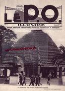 REVUE P.O. ILLUSTRE-N° 16-1931-EXPOSITION COLONIALE-TAPISSERIES AUBUSSON FELLETIN-GARE LAITIERE PARIS -MONT DORE-CROZANT - Chemin De Fer & Tramway