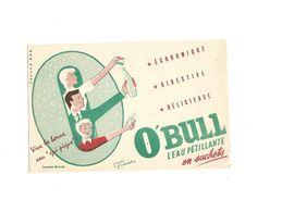 Buvard Eau Pétillante O'Bull - Limonades