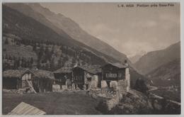 Plattjen Pres Saas-Fee - Photo: Louis Burgy No. 4426 - VS Valais