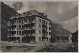 Hotel Portjengrat In Saas-Almagell, Wallis - Photo: E. Gyger No. 7394 - VS Valais