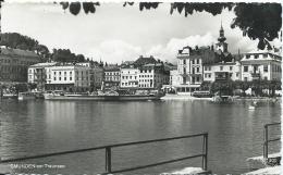 AK 0728  Gmunden Am Traunsee  ( Dampfer , Bus ) - Verlag Gründler Um 1956 - Gmunden