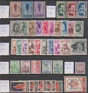 Restant Gestempeld (obliteré) Tussen (entre) N° 353 En 1107 - Zie Scan! Ocb = 110,00 Euro - Verzamelingen