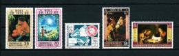 Nuevas Hébridas (Francesas)  Nº Yvert  374/5-402-404/5  En Nuevo - Leyenda Francesa