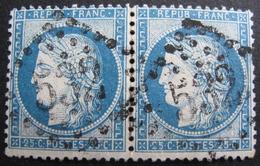LOT R1861/609 - CERES N°60C (PAIRE) GC 532 BORDEAUX (Gironde) - 1871-1875 Ceres