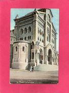 MONACO, La Cathédrale, Animée, (L.V.) - Kathedrale Notre-Dame-Immaculée
