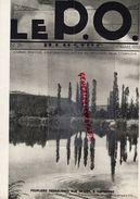 REVUE P.O. ILLUSTRE-N° 26-1933-CAPDENAC-CROZATIER-BEC AMBES PETROLE- RAISIN-BARRAGE MAREGES-CONSERVES NANTES FERRAND- - Railway & Tramway