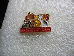 Pin's Des Sapeurs Pompiers De BAVILLIERS/DANJOUTIN. Savoir Pour Sevir - Bomberos