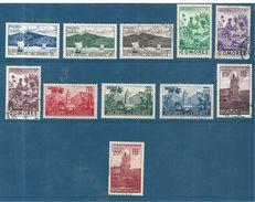 Timbres Des Comores De 1950/52 N°1 A 11 Série Complète (5 Neufs* Et 6 Oblitérés) - Nuovi
