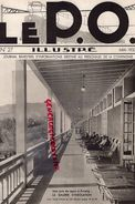 REVUE P.O. ILLUSTRE-N° 27-1933-ENVEIGT-CROZATIER-MOUTIER AHUN-SAINT PIERRE CORPS-ORLEANS TOURS-AIXE SUR VIENNE-LIMOGES - Railway & Tramway