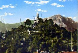 Borgo S.dalmazzo - Santuario Monserrato - Formato Grande Viaggiata Mancante Di Affrancatura – E 2 - Cuneo