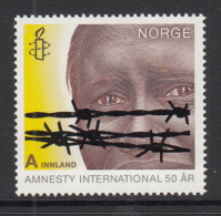 Norway 2011 A Innland Amnesty International 50 Years - Organisations