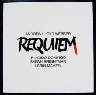 * LP *  REQUIEM - ANDREW LLOYD WEBBER / PLACIDO DOMINGO, SARAH BRIGHTMAN, LORIN MAAZEL (Holland 1985 EX!!!) - Klassiekers