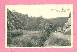 C.P. Tilff    =  Route  De  Méry à  Tilff Et  Les  Rochers - Esneux