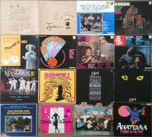 * LPs *  14 OF THE BEST DUTCH MUSICALS EVER!:  GODSPELL, TSJECHOV, CATS, MY FAIR LADY A.o. - Musicals