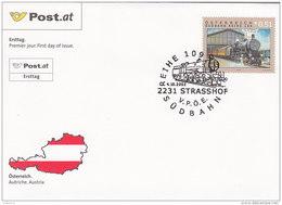 Österreich 2002 Nr. 2394 - Eisenbahnen - FDC Ersttagsbrief - FDC