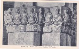 Aquileia - Basilica, Decorazione Di Pilastro * 30. VIII. 1933 - Udine