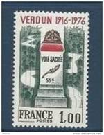 "FR YT 1883 "" Verdun "" 1976 Neuf** - France"