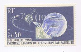 1361 - 1ère Liaison De Télévision Par Satellite (11-12 Juillet 1962 (1962-1963) - Ungebraucht