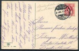 1918 Netherlands Holland Zeeland Walcheren Children Postcard. Tubingen Postamt Wurtemberg Germany Military - Period 1891-1948 (Wilhelmina)