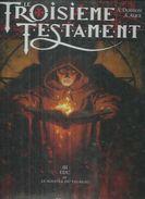 """LE TROISIEME TESTAMENT  """" LUC OU LE SOUFFLE DU TAUREAU """"  - DORISON / ALICE- E.O.  NOVEMBRE 2000  GLENAT - Troisième Testament, Le"""