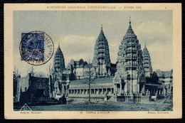 CPA MAXIMUM - EXPOSITION COLONIALE INTERNATIONALE - PARIS 1931 - Temple D'Angkor - Maximumkarten