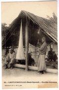 23. - LASTOURSVILLE (Haut-Ogooué). - Cordier Adouma  (GABON) - Carte Tachée En Bas à Droite. - Gabon