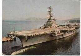 """CPM - FRANCE - Militaria -  Le Porte-avion  """"CLEMENCEAU """"- 1972 - Guerre"""