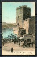 CPA 13 BOUCHES DE RHONE MARSEILLE ENTREE DU FORT SAINT JEAN  CARTE NON ECRITE DOS  DIVISE - Marseilles
