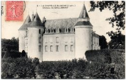 37 LA CHAPELLE-BLANCHE - Chateau De Grillemont    (Recto/Verso) - Frankrijk