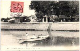 44 LE POULIGUEN - Passage Du Bac    (Recto/Verso) - Le Pouliguen