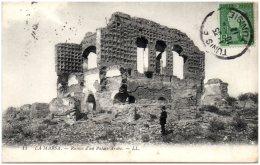 TUNISIE - LA MARSA - Ruines D'un Palais Arabe   (Recto/Verso) - Tunesië