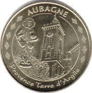 13 AUBAGNE PROVENCE TERRE D'ARGILE SANTON MÉDAILLE TOURISTIQUE MONNAIE DE PARIS 2011 JETON MEDALS TOKENS COINS - Monnaie De Paris