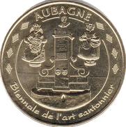 13 AUBAGNE PROVENCE TERRE D'ARGILE N°2 SANTONS FONTAINE MÉDAILLE MONNAIE DE PARIS 2012 JETON MEDALS TOKENS COINS - Monnaie De Paris