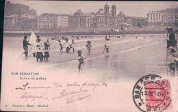 San-Sébastian, Playa De Baños, Guipuscoa (12.10.04) - Guipúzcoa (San Sebastián)