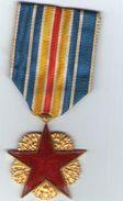 Medailles Des Blesses Militaires  Etoile Rouge - Frankreich