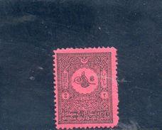 TURQUIE 1901 * - 1921-... République