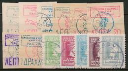 Kreta / Samos - Gestempelte Marken ~ Michel 125,-- Euro - Kreta