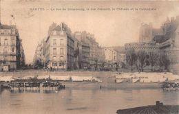 NANTES  - La Rue De Strasbourg , La Rue Premion ... - Nantes