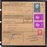 1979 Adreskaart 980 Cents Rate Badge A Minit Harmelen > Inbraakpreventie   (BQ) - 1949-1980 (Juliana)