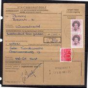 Adreskaart 1350 Cents Rate Woensdrecht > Gebe Tuindecoraite Horst (BQ) - Period 1980-... (Beatrix)