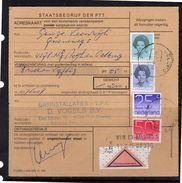 Adreskaart Rembours 875 Cents Rate Aalburg > Gasinstallaties Vogels Nuenen   (BQ) - Period 1980-... (Beatrix)