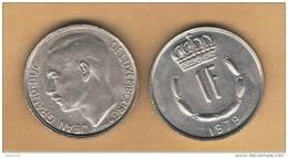 LUXEMBURGO -  1 Franc 1979  KM55 - Luxemburgo