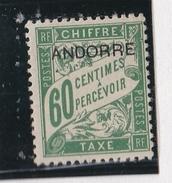 Andorre 1931 - TT N°5** - Portomarken