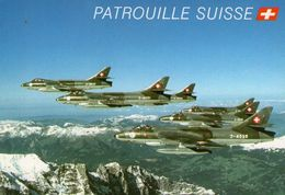 (44) CPSM Patrouille Suisse  (bonne Etat) - 1946-....: Era Moderna