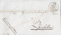1849 BADEN → Cancell Civitat Badens  ►Wi 2063/3◄ - Schweiz