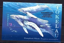 Tokelau 1997 Whales MNH -(V-20) - Marine Life