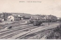 Carte Postale : Grigny (69) Gare De Badan Triage     Ph   Selecta - Grigny