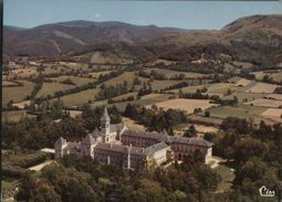 81  DOURGNE  .-.abbaye Ste Scholastique Et La Montagne Noire - Dourgne