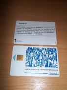 CARTE A PUCE ACCES STATIONNEMENT LILLE RARE T.B.E !!! - Frankrijk